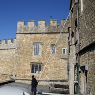 Gutter cleaning for historical properties in South London and Hampshire